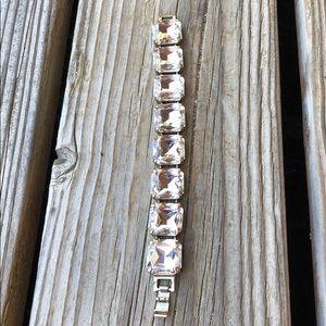 Gorgeous Chunky Crystal Statement Bracelet!